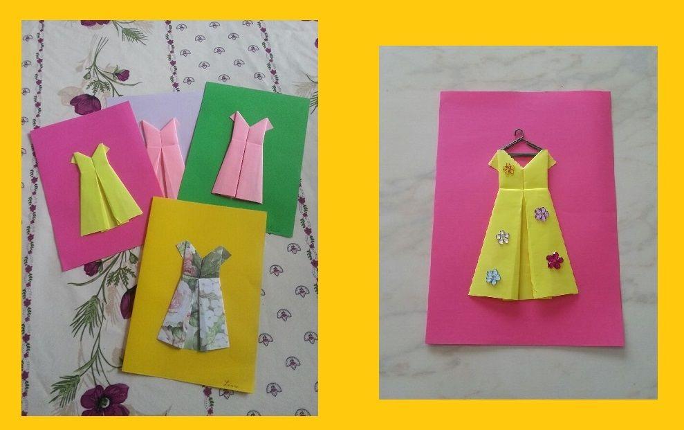 Robes d 39 t origami - Robe en origami ...